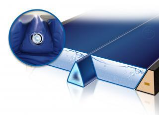 Thermogel-Keil für das Wasserbett