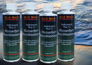 4 Flaschen Blue Magic Wasserbetten Konditionierer