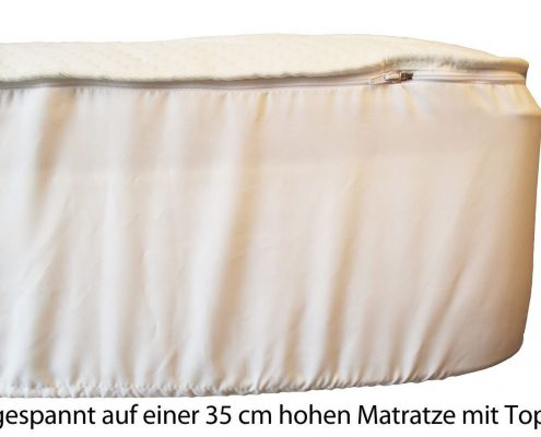 Wasserbettauflage passt auf jedes Wasserbett